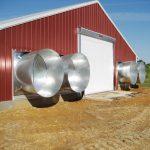 Extractores de 54 Pulg. con puerta RollSeal